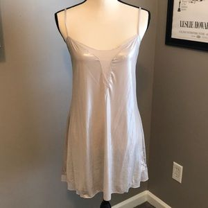 Victoria's Secret Pink Shimmery Nightgown